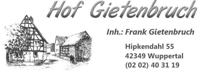 Hof Gietenbruch - Wuppertal